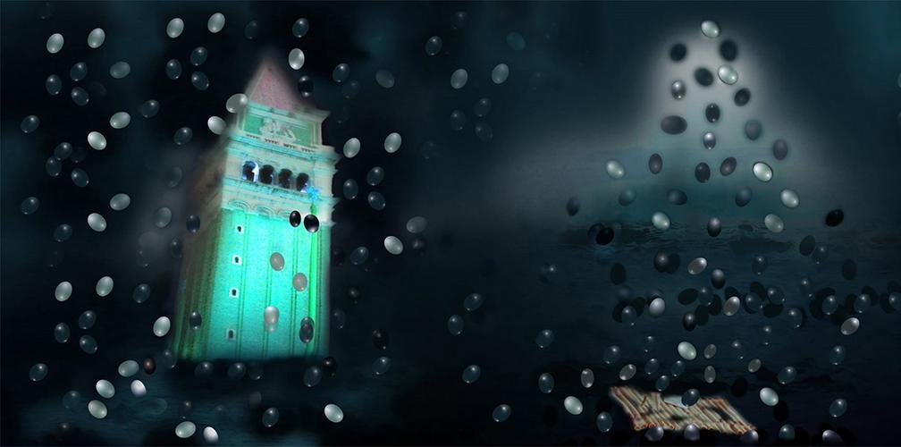 Venezia notturna – Anno 2013 (digital photo cm 40 x cm 145) 1